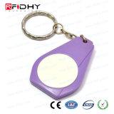 F08 da etiqueta de Chave de Proximidade RFID ABS Via Controle de Acesso