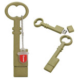 Chave chave do PVC da vara 32GB do USB da movimentação 64GB do flash do USB mini