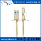 Apple Фги Certified 2-в-1 Кабель зарядки и синхронизации с молнии и Micro-USB для iPhone X 8 7 Plus Se, iPad воздуха