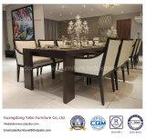 Simplificar los conjuntos de madera de los muebles del comedor para el hotel de la estrella (W-M-06)