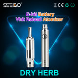 De beste Verkopende Verstuiver van de Uitrusting van de Sigaret van de Gezondheid van Seego 2017 van het Product Elektronische voor Essentieel Droog Kruid