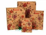 Bolso de papel de lujo del regalo/Ba que hace compras impreso insignia