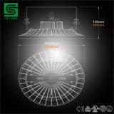 Высокий UFO светлого приспособления 200W залива СИД моделируя конструкцию