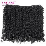 인간적인 Virgin 머리 비꼬인 컬 브라질인 머리를 판매하는 Yvonne 상단