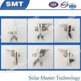 Techo de metal techo de hojalata Abrazaderas de aluminio para Solar estantería