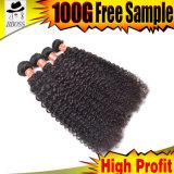 Heißes Jungfrau-Haar 100% auf Brasilianer 9A