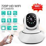 Cacerola y cámara de red del IP del P2p WiFi de la seguridad casera de la inclinación