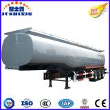 Pétrolier de carburant en acier au carbone /liquide semi-remorque /Réservoir à essence