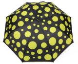 Deux d'impression de pliage parapluie avec image de marque OEM