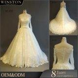 Новая конструкция off плечо мусульманских свадебные платья