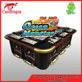 Re dell'oceano del drago di tuono della macchina del gioco della galleria del cacciatore dei pesci dei tesori