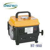 Generador portable de la gasolina de Bt-950 650W