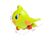 Pássaro encantador Brinquedos, um relógio Dabbling Toy banheira de bebé brincar de Água