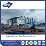 Colorare il capannone di costruzione dei velivoli della struttura d'acciaio del rivestimento