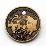 Поощрение Custom 3D головка портрет сувенирные металлические монеты казино
