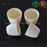 99.7% Crogiolo di ceramica del corindone del crogiolo dell'allumina/crogiolo dell'allumina