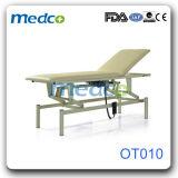 병원 환자를 위한 전기 조정가능한 시험 처리 테이블