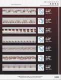 PU talladas de moldeo de techo / cornisa clásica de poliuretano/hogar y decoración de interiores