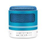 Mini haut-parleur Bluetooth sans fil portable avec radio FM de lumière à LED