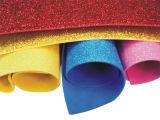 Glitter adesivo EVA da espuma de EVA do Glitter da espessura de 2mm com colagem