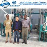 Afrika Ugali Nshima Fufu van 30 Ton de Installatie van het Malen van koren van de Maïs