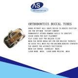Tubes buccaux de dents orthodontiques avec les tubes MIM simples d'OIN ęr de FDA de la CE