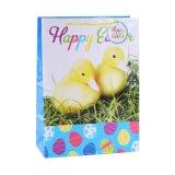 Большой желтый торт заедок конфеты солнцецветов для мешка бумаги с покрытием малышей