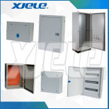 Установка на стену металлической платы панели распределения электропитания