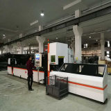 Fibra de Tubo Quadrado Redondo populares máquina de corte a laser para corte dos tubos