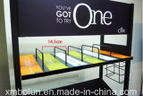 Verschiedene Einzelhandelsgeschäft-Getränkebildschirmanzeige-Zahnstangen