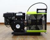 compresor de aire portable del buceo con escafandra de la gasolina de 300bar/225bar 3.5cfm para respirar