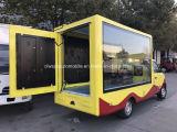 Camion di piccola dimensione del Mobile LED di Foton con il tabellone per le affissioni di Scrolling