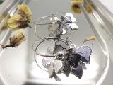 형식 보석 여자 Bowknot 나비 매듭 활 고급장교 귀걸이