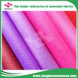 Tissu non-tissé imperméable à l'eau de Spunbond pp pour le prix de sac à provisions