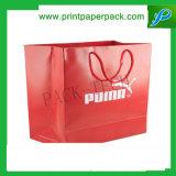 Saco feito sob encomenda do presente do papel de embalagem do saco do saco de compra das senhoras