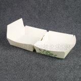 Pequeños rectángulos de empaquetado de imprenta de la cartulina a todo color del papel para el emparedado