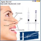 Enchimento meso profundo de Derm do ácido hialurónico para o nariz