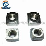 L'acier au carbone galvanisé DIN557 Gr4 GR8 Les écrous carrés