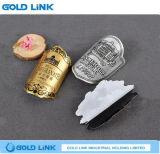 Kundenspezifisches Emblem-anhaftender Flaschen-Kennsatz des Metallaluminiumwein-3D