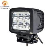 La luz de conducción del LED 7inch 60W impermeabiliza el carro ATV, Ute, iluminación del jeep de 12V 24V LED de SUV