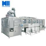 Máquina que capsula de relleno que se lava de la botella de agua automática de 5 galones