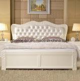 固体木のベッドの現代ベッド(M-X2761)