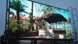 62500dots/Sqm HD P4 esterno LED che fa pubblicità allo schermo di visualizzazione