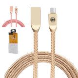 2Un trenzado Nylon Rápida sincronización de datos USB Micro USB Cable de teléfono