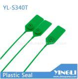 Простой фиксации пластиковое уплотнение с высоким уровнем безопасности и металлической вставки (YL-S340T)
