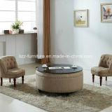 Софа ткани модульной мебели комбинации дешевая с деревянной рамкой
