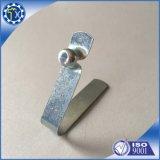 Planos personalizados de láminas de metal, acero inoxidable V forma encajar con el botón