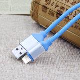 금속 Huawei iPhone를 위한 맨 위 TPE 둥근 USB 비용을 부과 케이블