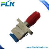 Wijfje Sc-St aan de Vrouwelijke Optische Simplex Hybride Adapter van de Vezel