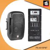 15 Spreker ps-4015PBT van Bluetooth van de FM van de AMPÈRE USB BR van de duim de PRO60W Digitale Plastic Actieve